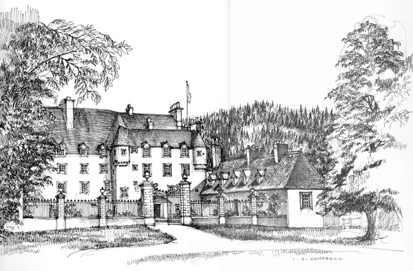 46 Traquair House