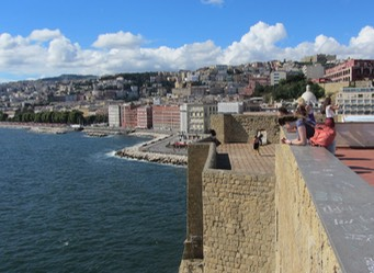 View from Castel Dell Ovo